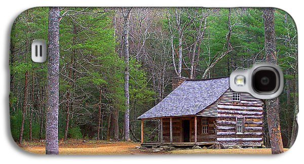 Tennessee Historic Site Galaxy S4 Cases - Carter Shields Cabin II Galaxy S4 Case by Jim Finch