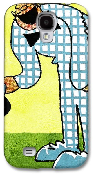 Character Portraits Drawings Galaxy S4 Cases - Cartoon 02 Galaxy S4 Case by Svetlana Sewell