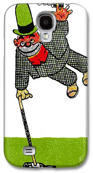 Character Portraits Drawings Galaxy S4 Cases - Cartoon 03 Galaxy S4 Case by Svetlana Sewell