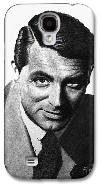 Films By Alfred Hitchcock Galaxy S4 Cases - Cary Grant Galaxy S4 Case by Loredana Buford