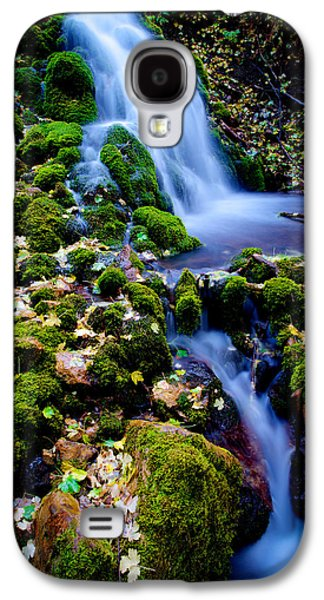 Landscape Photographs Galaxy S4 Cases - Cascade Creek Galaxy S4 Case by Chad Dutson