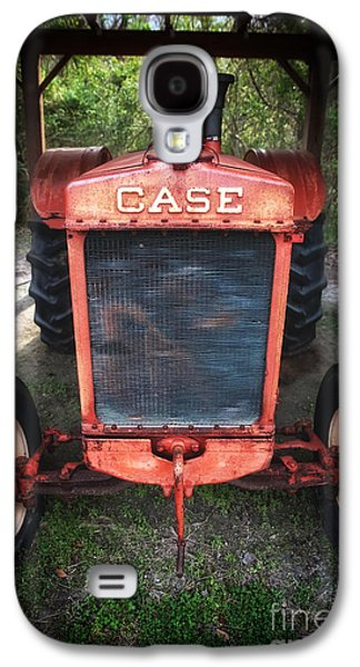 Tractor Prints Galaxy S4 Cases - Case Tractor Galaxy S4 Case by John Rizzuto