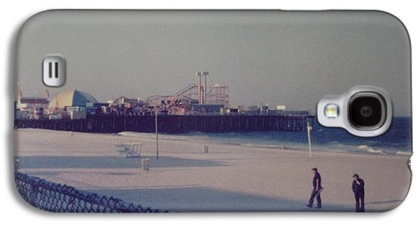 Casino Pier Seaside Heights Nj Galaxy S4 Case by Joann Renner
