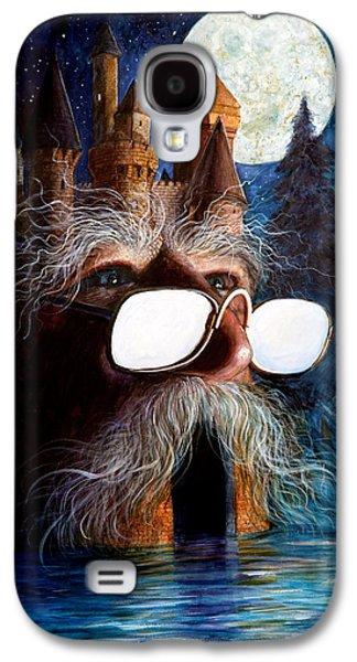 Santa Claus Paintings Galaxy S4 Cases - Casolgye Galaxy S4 Case by Frank Robert Dixon