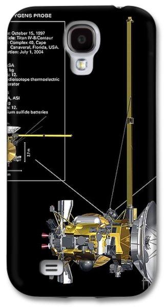 Component Photographs Galaxy S4 Cases - Cassini-huygens Probe, Artwork Galaxy S4 Case by Carlos Clarivan
