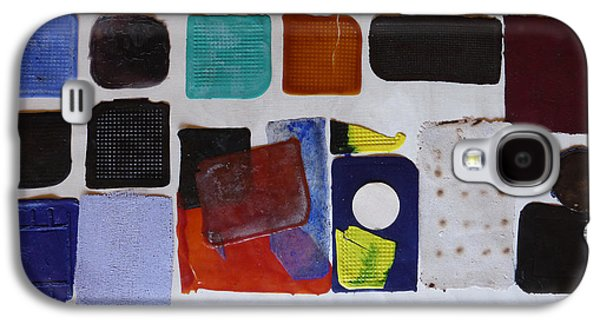 Abstracted Reliefs Galaxy S4 Cases - Cast abstraction 1 Galaxy S4 Case by Mark Fearn