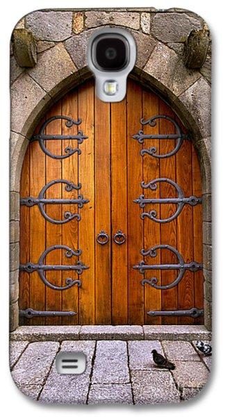 Castle Door Galaxy S4 Case by Carlos Caetano
