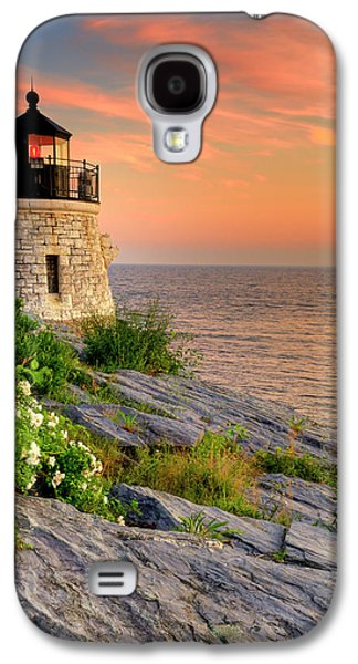 Fantasy Photographs Galaxy S4 Cases - Castle Hill Lighthouse-Rhode Island Galaxy S4 Case by Thomas Schoeller