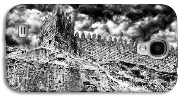 Castle Photographs Galaxy S4 Cases - Castle Wall in Porto Galaxy S4 Case by John Rizzuto