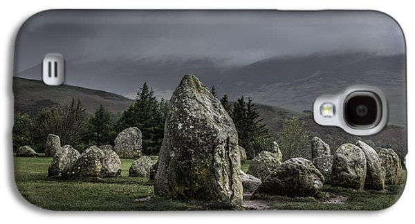 Ancient Galaxy S4 Cases - Castlerigg Stone Circle Galaxy S4 Case by Chris Fletcher