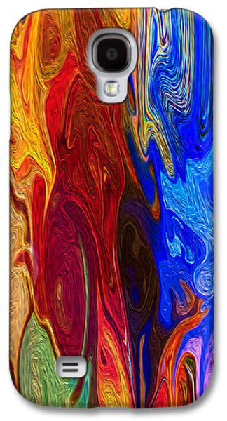 Abstract Digital Mixed Media Galaxy S4 Cases - Castles Made of Sand II Galaxy S4 Case by Omaste Witkowski