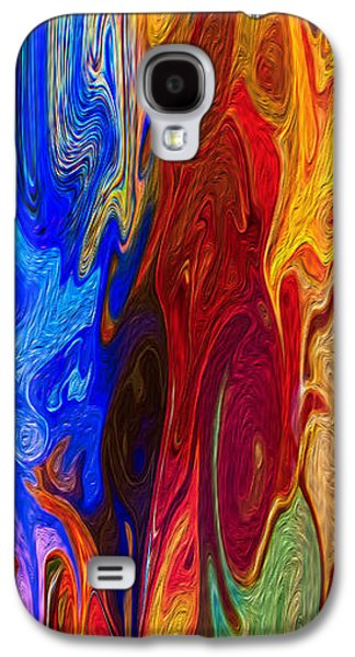 Abstract Digital Mixed Media Galaxy S4 Cases - Castles Made of Sand Galaxy S4 Case by Omaste Witkowski