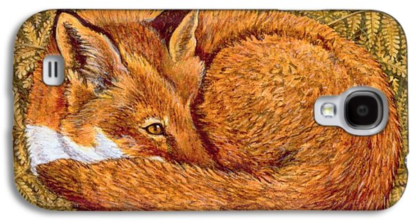 Cat Napping Galaxy S4 Case by Ditz