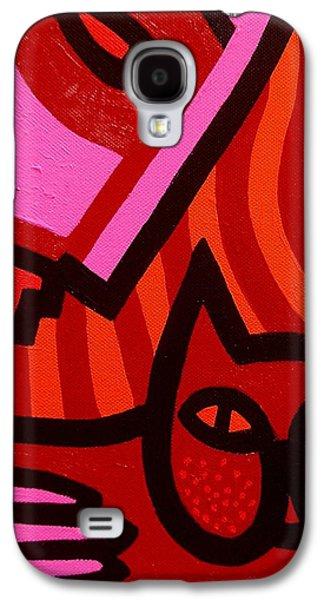 Edition Galaxy S4 Cases - Cat Woman Galaxy S4 Case by John  Nolan