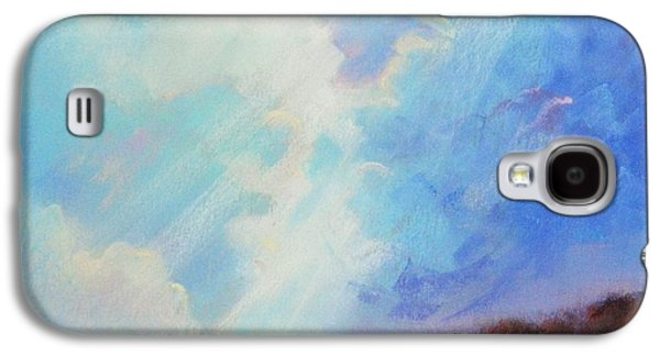 Light Ceramics Galaxy S4 Cases - Catch The Light Galaxy S4 Case by Celine  K Yong