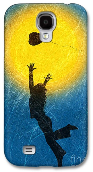 Playing Digital Art Galaxy S4 Cases - Catching a Heart Galaxy S4 Case by Tim Gainey