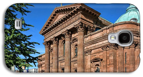 Religious Galaxy S4 Cases - Cathedral Basilica of Saints Peter and Paul Galaxy S4 Case by Olivier Le Queinec