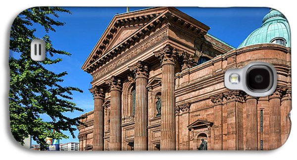 Phila Galaxy S4 Cases - Cathedral Basilica of Saints Peter and Paul Galaxy S4 Case by Olivier Le Queinec