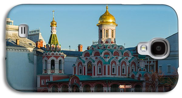 Russian Icon Galaxy S4 Cases - Cathedral of Our Lady of Kazan - Square Galaxy S4 Case by Alexander Senin