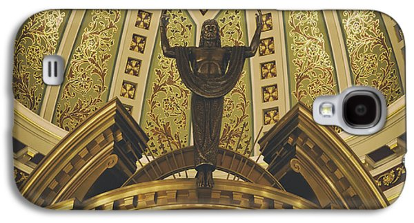 Art Mobile Galaxy S4 Cases - Cathedral of the Immaculate Conception Detail - Mobile Alabama Galaxy S4 Case by Mountain Dreams