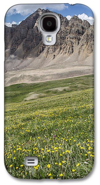 Landscape With Mountains Galaxy S4 Cases - Cathedral Peak Galaxy S4 Case by Aaron Spong