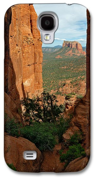 Cathedral Rock Photographs Galaxy S4 Cases - Cathedral Rock 05-012 Galaxy S4 Case by Scott McAllister