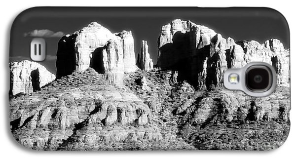 Cathedral Rock Photographs Galaxy S4 Cases - Cathedral Rock Glow Galaxy S4 Case by John Rizzuto