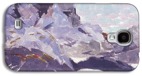 Cathedral Rock Galaxy S4 Cases - Cathedral Rock  Iona Galaxy S4 Case by Francis Campbell Boileau Cadell