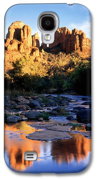 Cathedral Rock Galaxy S4 Cases - Cathedral Rock Sedona Az Usa Galaxy S4 Case by Panoramic Images