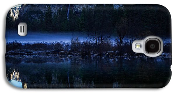 Cathedral Rock Galaxy S4 Cases - Cathedral Rocks and Bridalveil Falls Galaxy S4 Case by Scott McGuire