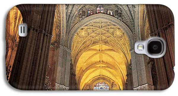 Religious Galaxy S4 Cases - Cathedral Seville Andalucia Spain Galaxy S4 Case by Panoramic Images