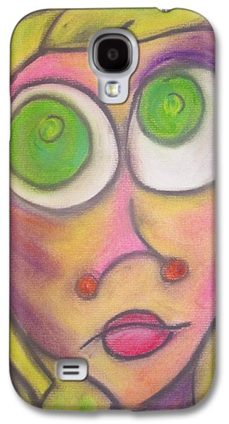 Animation Pastels Galaxy S4 Cases - Catherine Galaxy S4 Case by Amy Brock