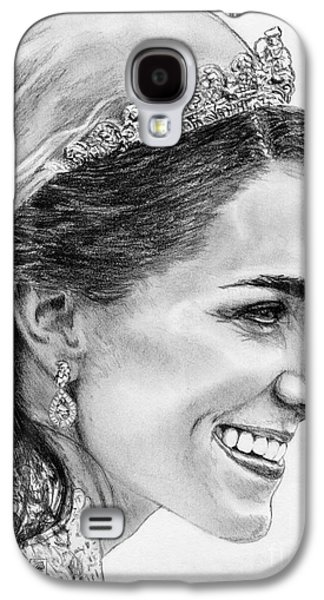 Kate Middleton Galaxy S4 Cases - Catherine - Duchess of Cambridge in 2011 Galaxy S4 Case by J McCombie