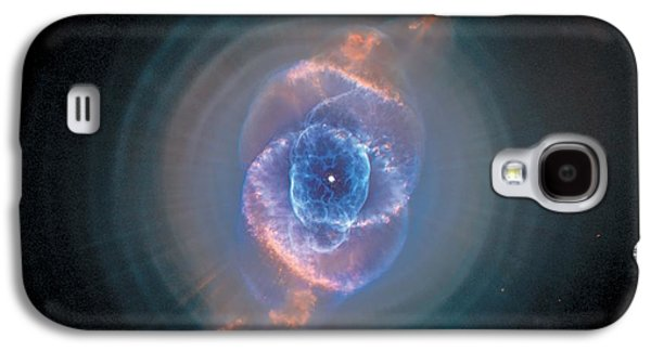 Stellar Paintings Galaxy S4 Cases - Cats Eye Nebula - NGC 6543  Galaxy S4 Case by Celestial Images