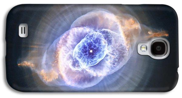 Cat's Eye Nebula Galaxy S4 Case by Adam Romanowicz