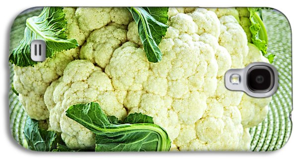 Cauliflower Galaxy S4 Case by Elena Elisseeva