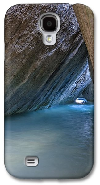 Line Photographs Galaxy S4 Cases - Cave at The Baths Galaxy S4 Case by Adam Romanowicz