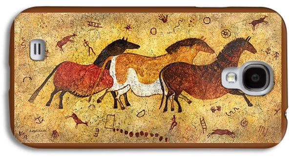 Cave Horses Galaxy S4 Case by Hailey E Herrera