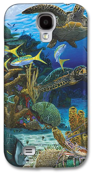 Cayman Turtles Re0010 Galaxy S4 Case by Carey Chen