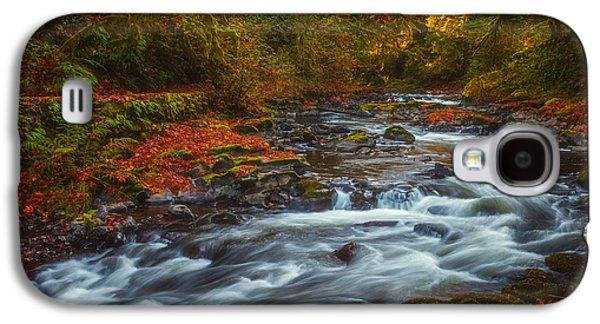 Landscape Acrylic Prints Galaxy S4 Cases - Cedar Creek Morning Galaxy S4 Case by Darren  White