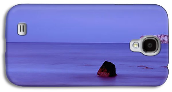 Religious Galaxy S4 Cases - Cefalu At Dusk, Sicily, Italy Galaxy S4 Case by Panoramic Images