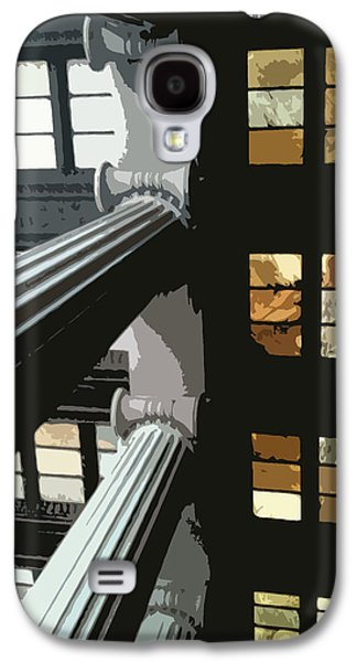 Greek Icon Paintings Galaxy S4 Cases - Skylights Galaxy S4 Case by Julio R Lopez Jr