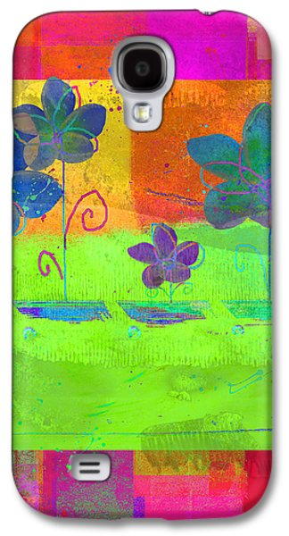 Multicolored Digital Galaxy S4 Cases - Celebrate - c560cc Galaxy S4 Case by Variance Collections