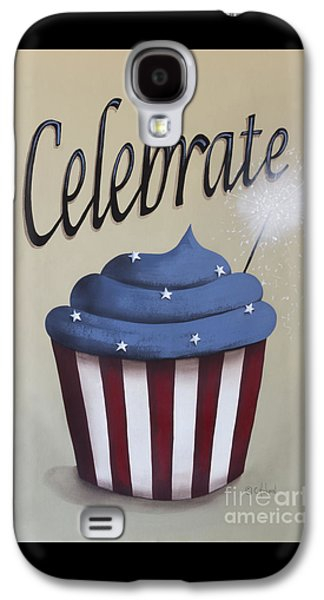 4th July Paintings Galaxy S4 Cases - Celebrate the 4th of July Galaxy S4 Case by Catherine Holman
