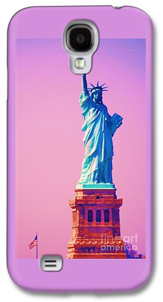 4th July Galaxy S4 Cases - Celebrating Liberty 3 Galaxy S4 Case by Marcus Dagan
