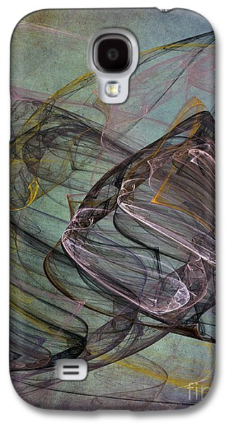 Abstract Digital Art Galaxy S4 Cases - Celebration Galaxy S4 Case by Edward Fielding