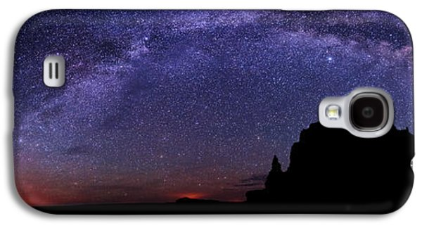 Sun Galaxy S4 Cases - Celestial Arch Galaxy S4 Case by Chad Dutson