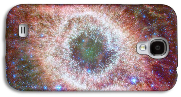 Helix Galaxy S4 Cases - Celestial Fireworks Galaxy S4 Case by Nomad Art And  Design