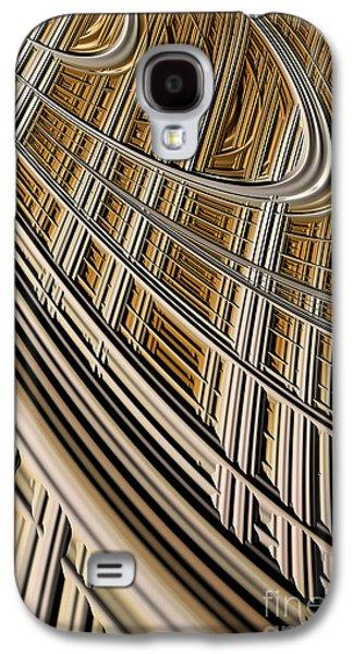 Creativity Galaxy S4 Cases - Celestial Harp Galaxy S4 Case by John Edwards