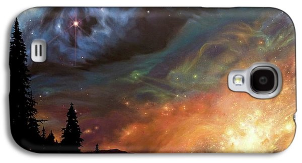 Celestial Northwest Galaxy S4 Case by Lucy West